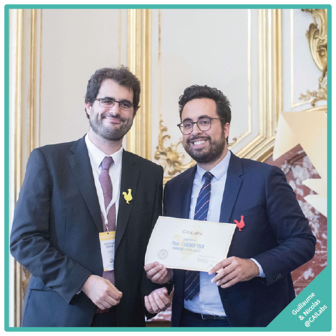 CAILabs – trophée d'innovation pour sa solution AROONA